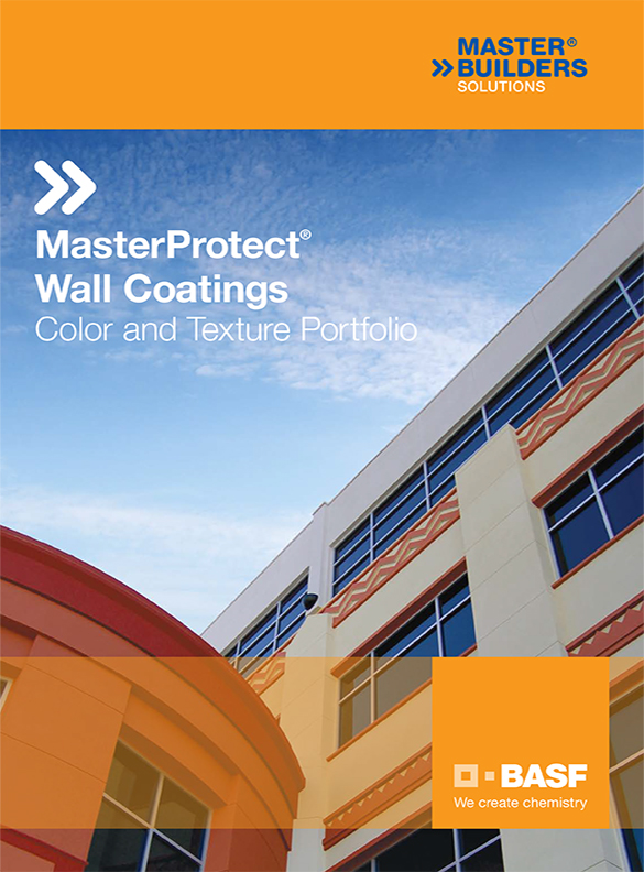 The color and texture choices for protective wall coatings