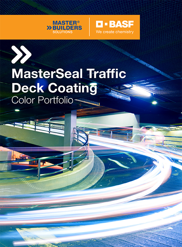 BASF MasterSeal Deck Coatings Color Card-Thumbnail